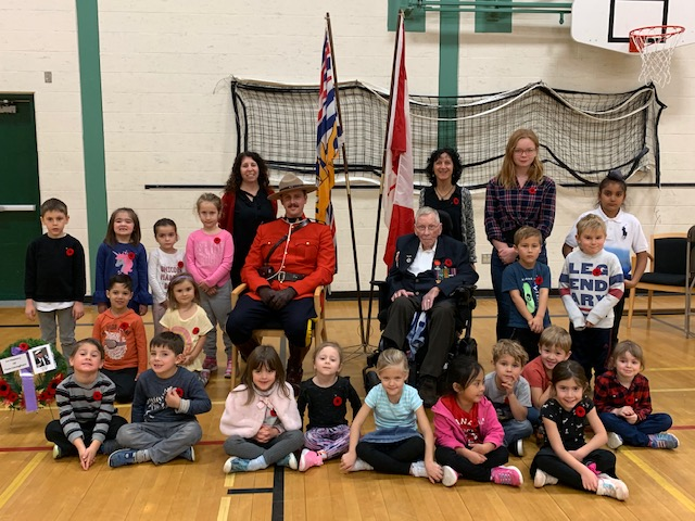 Remembrance Day with Mr. Sanderson
